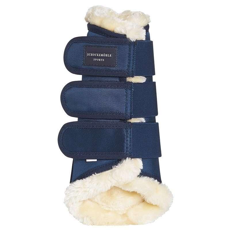 Schockemohle Soft Cosy Navy Brushing Boots